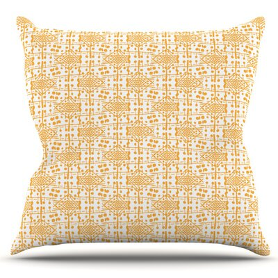 Diamonds by Apple Kaur Designs Outdoor Throw Pillow