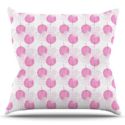 Wild Dandelions by Apple Kaur Designs Outdoor Throw Pillow