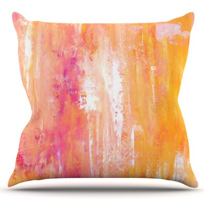 Girls Night Out by CarolLynn Tice Outdoor Throw Pillow