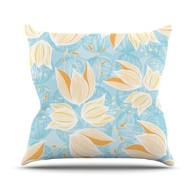 Giallo Outdoor Throw Pillow