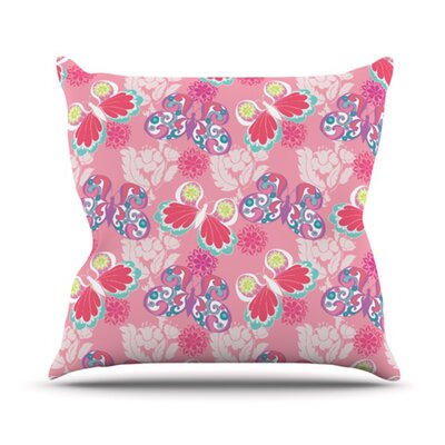 Butterflies Outdoor Throw Pillow