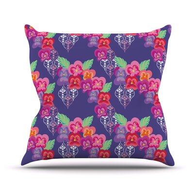 Beautifully Boho Outdoor Throw Pillow