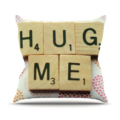 Hug Me Outdoor Throw Pillow