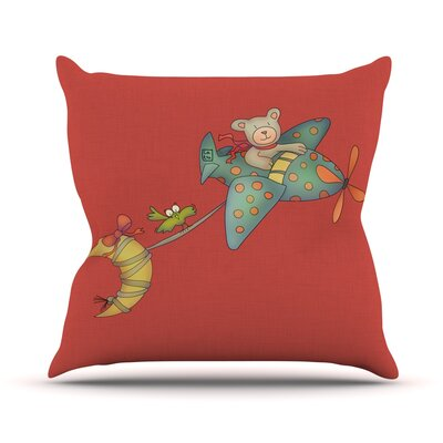 I Will Bring You The Moon Outdoor Throw Pillow
