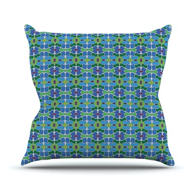 Sea Glass Outdoor Throw Pillow