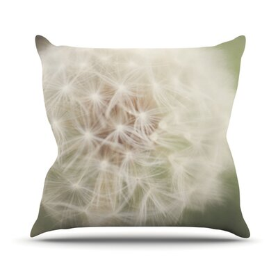 Dandelion Outdoor Throw Pillow