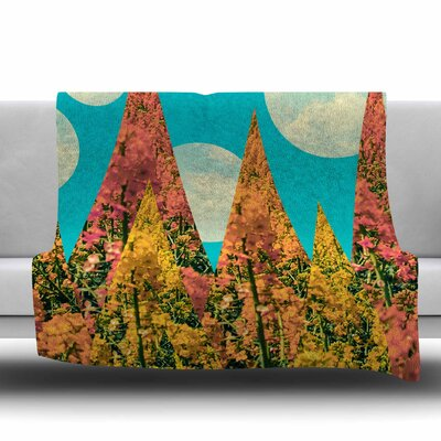 Day by Cvetelina Todorova Fleece Blanket Size: 80 L x 60 W