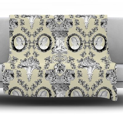 Imperial Palace by DLKG Design Fleece Blanket Size: 80 L x 60 W