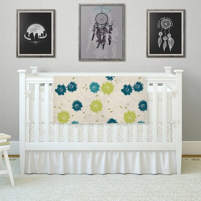 Mollie by Gukuuki Fleece Blanket Size: 80 L x 60 W