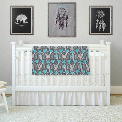 Aramosha by Gukuuki Fleece Blanket Size: 80 L x 60 W