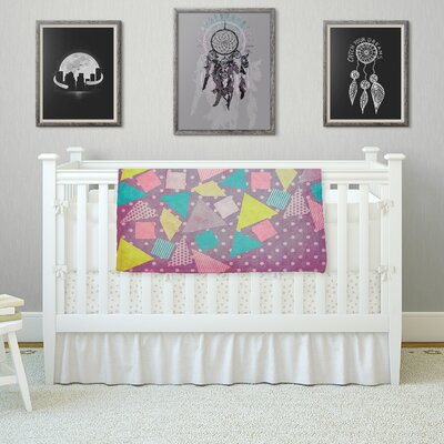 Candy by Louise Machado Fleece Blanket Size: 80 L x 60 W