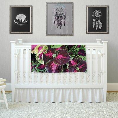 Forest by Louise Machado Fleece Blanket Size: 80 L x 60 W