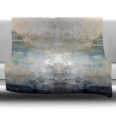 Heaven II by Pia Fleece Blanket Size: 80 L x 60 W