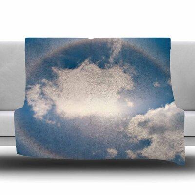 Halo by Robin Dickinson Fleece Blanket Size: 80 L x 60 W
