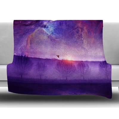 Orion Nebula by Viviana Gonzalez Fleece Blanket Size: 80 L x 60 W