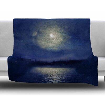 Magnolia by Viviana Gonzalez Fleece Blanket Size: 80 L x 60 W