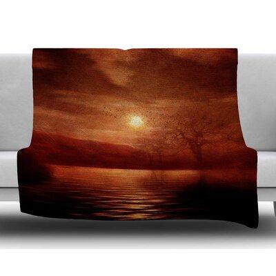 Woods To Conjure by Viviana Gonzalez Fleece Blanket Size: 40 L x 30 W