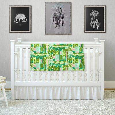 Maze by Amy Reber Fleece Blanket Size: 80 L x 60 W
