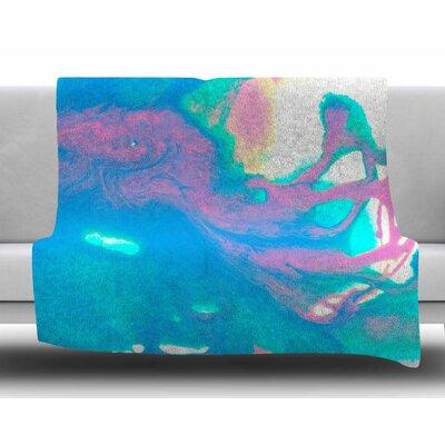 AC2 by Ashley Rice Fleece Blanket Size: 80 L x 60 W