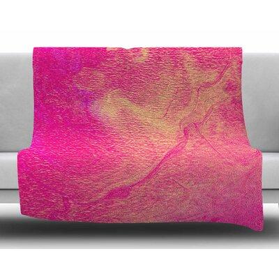 AC1 by Ashley Rice Fleece Blanket Size: 80 L x 60 W