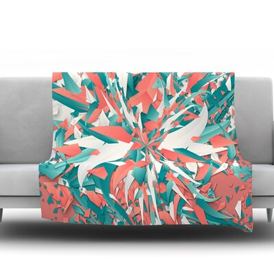 Like Explosion by Danny Ivan Fleece Blanket Size: 80 L x 60 W