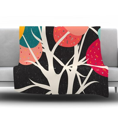 Lovely Tree by Danny Ivan Fleece Blanket Size: 80 L x 60 W