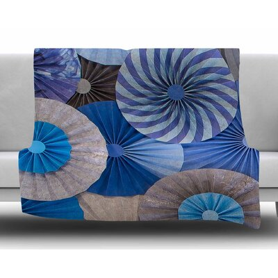 Coastline Cottage by Heidi Jennings Fleece Blanket Size: 80 L x 60 W