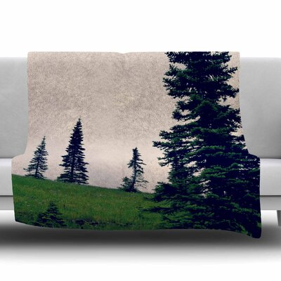 Little By Little by Robin Dickinson Fleece Blanket Size: 80 L x 60 W