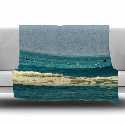 Break Free and Soar by Robin Dickinson Fleece Blanket Size: 80 L x 60 W