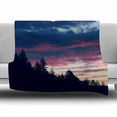Go On Adventures by Robin Dickinson Fleece Blanket Size: 80 L x 60 W