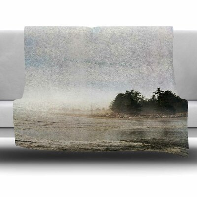 He Who Seeks Beauty by Robin Dickinson Fleece Blanket Size: 80 L x 60 W
