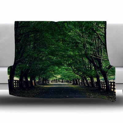 Welcome Home by Robin Dickinson Fleece Blanket Size: 80 L x 60 W