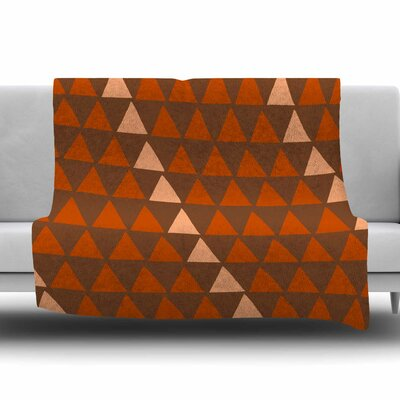 Overload Autumn by Matt Eklund Fleece Blanket Size: 80 L x 60 W