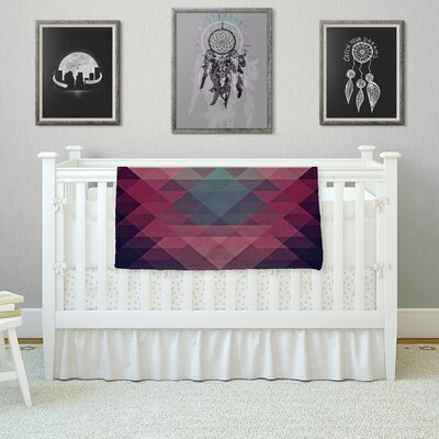 Hipster by Nika Martinez Fleece Blanket Size: 80 L x 60 W