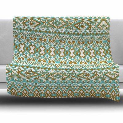 Pom Graphic Design Fleece Blanket Size: 80 L x 60 W