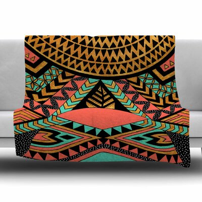 PeruNative by Pom Graphic Design Fleece Blanket Size: 80 L x 60 W