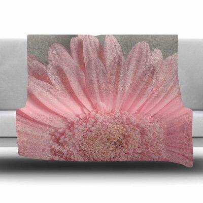 Summer Daisy by Suzanne Harford Fleece Blanket Size: 80 L x 60 W
