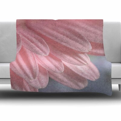 Airy by Suzanne Harford Fleece Blanket Size: 80 L x 60 W