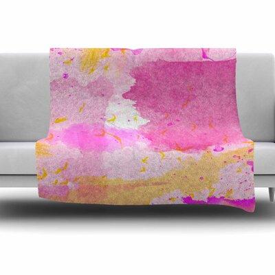 Shirlei Patricia Muniz Fleece Blanket Size: 80 L x 60 W