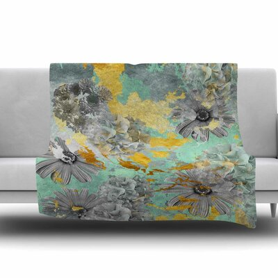 Garden by Zara Martina Mansen Fleece Blanket Size: 80 L x 60 W