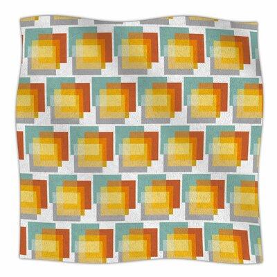 GEO1 by Juliana Motzko Fleece Blanket Size: 80 L x 60 W