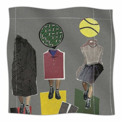 Fashion by Jina Ninjjaga Fleece Blanket Size: 80 L x 60 W