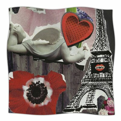 Parish by Jina Ninjjaga Fleece Blanket Size: 80 L x 60 W