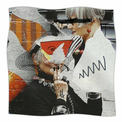 Style by Jina Ninjjaga Fleece Blanket Size: 80 L x 60 W