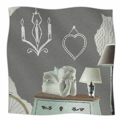 Decor by Jina Ninjjaga Fleece Blanket Size: 80 L x 60 W