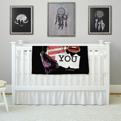 Poster by Jina Ninjjaga Fleece Blanket Size: 80 L x 60 W