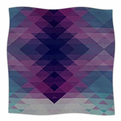 Hipsterland II by Nika Martinez Fleece Blanket Size: 80 L x 60 W