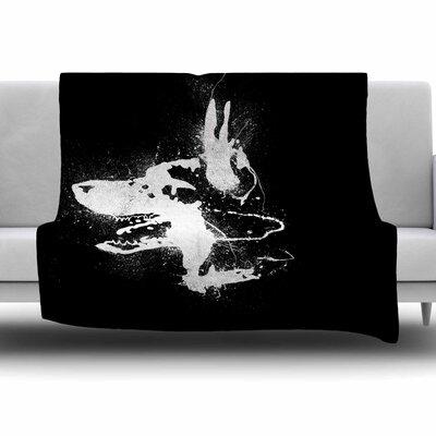 Watchdog by BarmalisiRTB Fleece Blanket Size: 80 L x 60 W