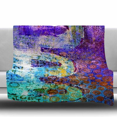 ARCANE 2 by AlyZen Moonshadow Fleece Blanket Size: 80 L x 60 W