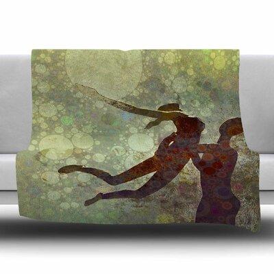 LIFT by AlyZen Moonshadow Fleece Blanket Size: 80 L x 60 W
